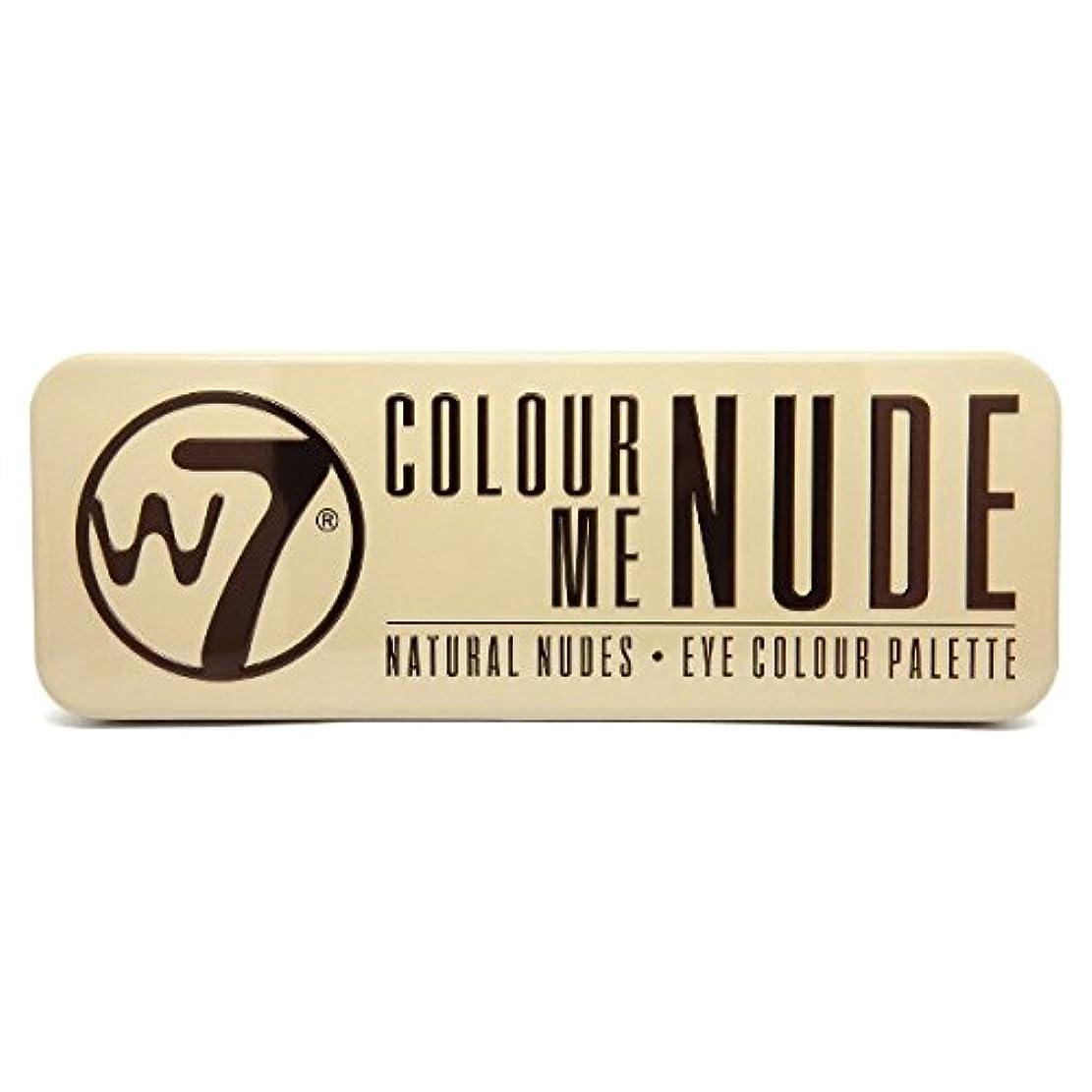 スノーケルトーナメント影のあるW7 Colour Me Nude Natural Nudes Eye Colour Palette (並行輸入品)