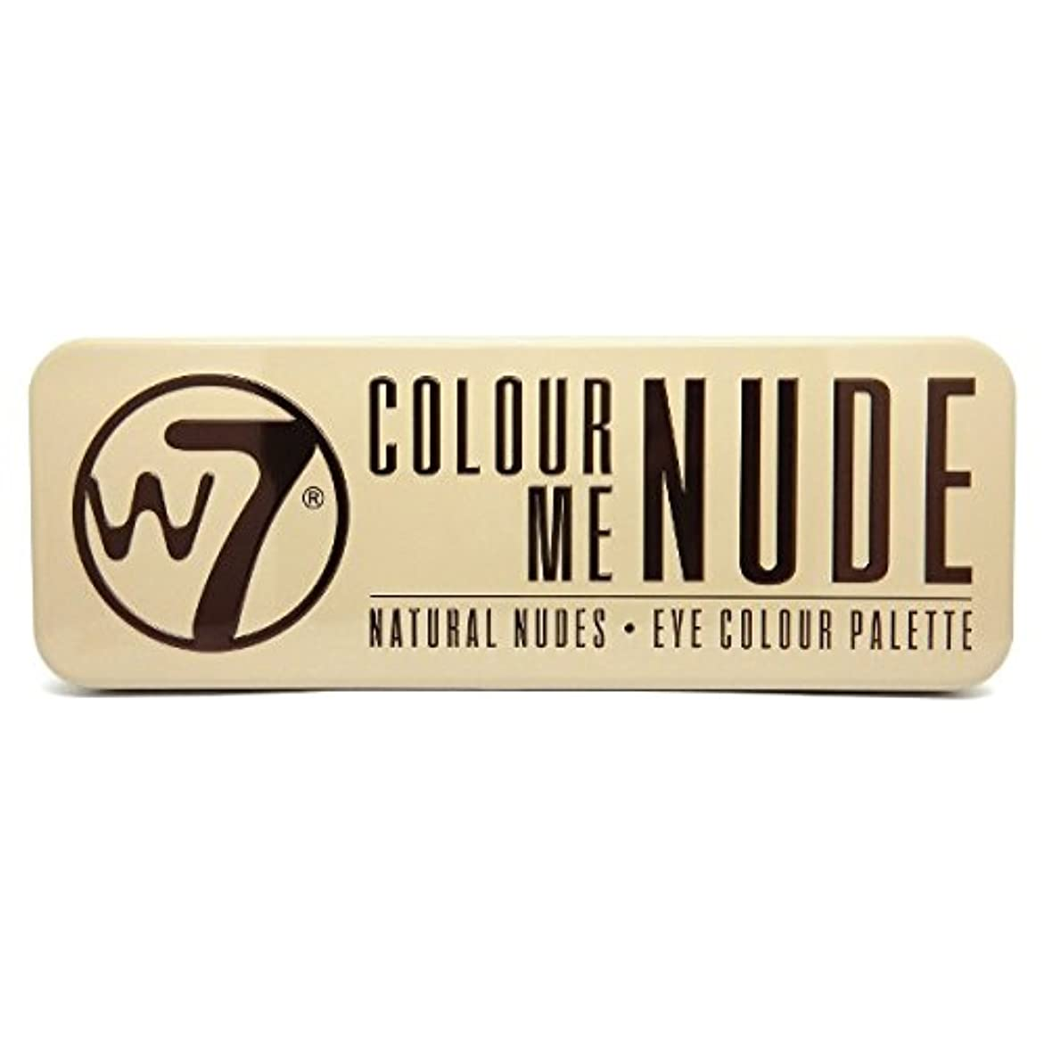 主張する反乱揮発性W7 Colour Me Nude Natural Nudes Eye Colour Palette (並行輸入品)