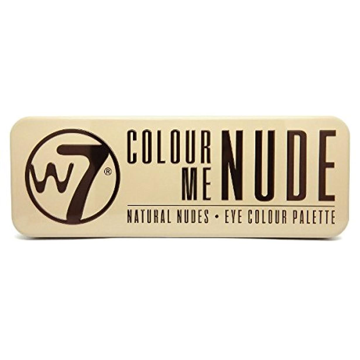 怠感プレビュー単独でW7 Colour Me Nude Natural Nudes Eye Colour Palette (並行輸入品)