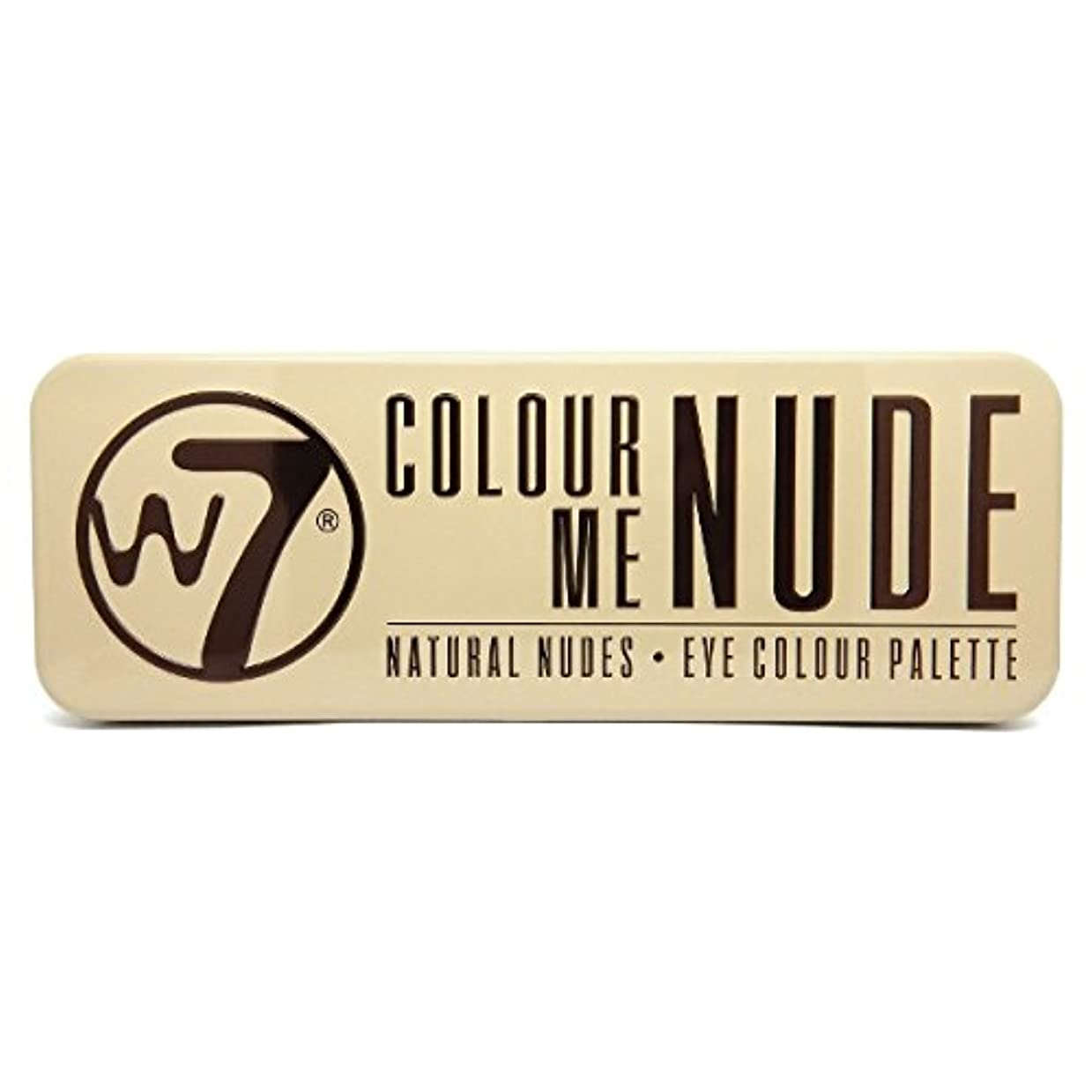 領域襲撃ブロックW7 Colour Me Nude Natural Nudes Eye Colour Palette (並行輸入品)
