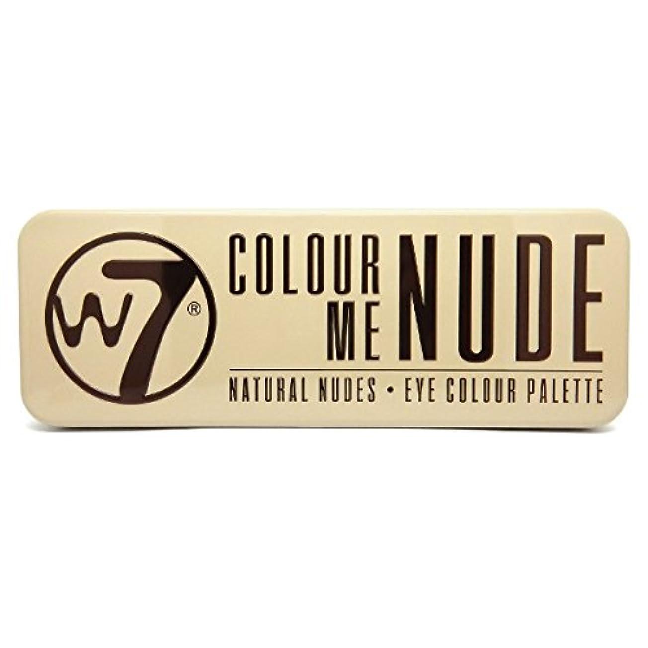 けがをする恐怖症代表するW7 Colour Me Nude Natural Nudes Eye Colour Palette (並行輸入品)