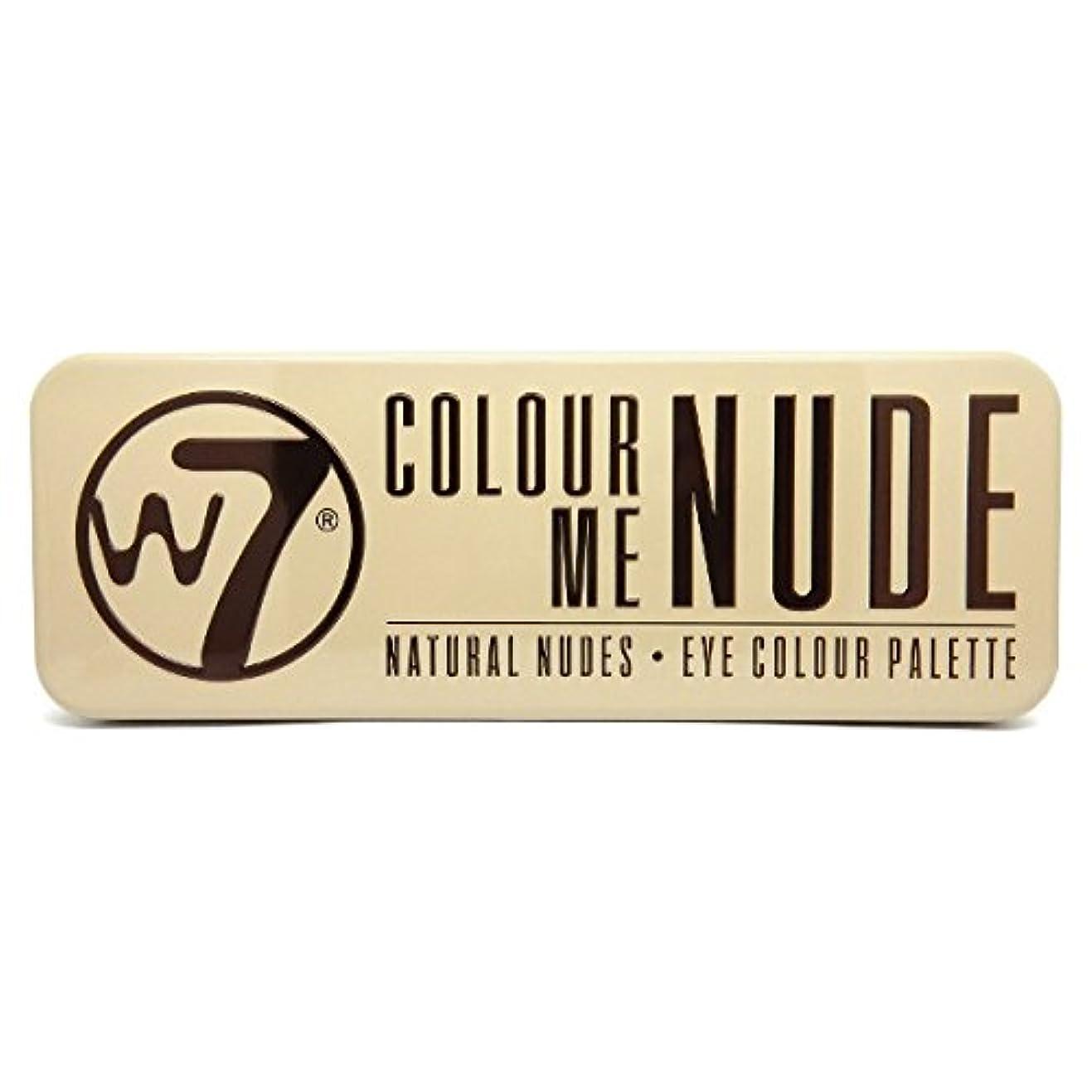 伴う導入する気楽なW7 Colour Me Nude Natural Nudes Eye Colour Palette (並行輸入品)