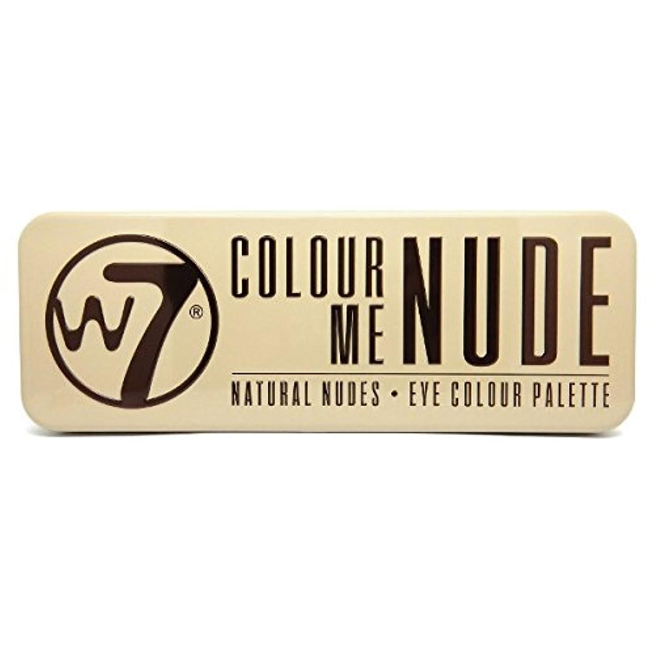 カプセル分類する原告W7 Colour Me Nude Natural Nudes Eye Colour Palette (並行輸入品)