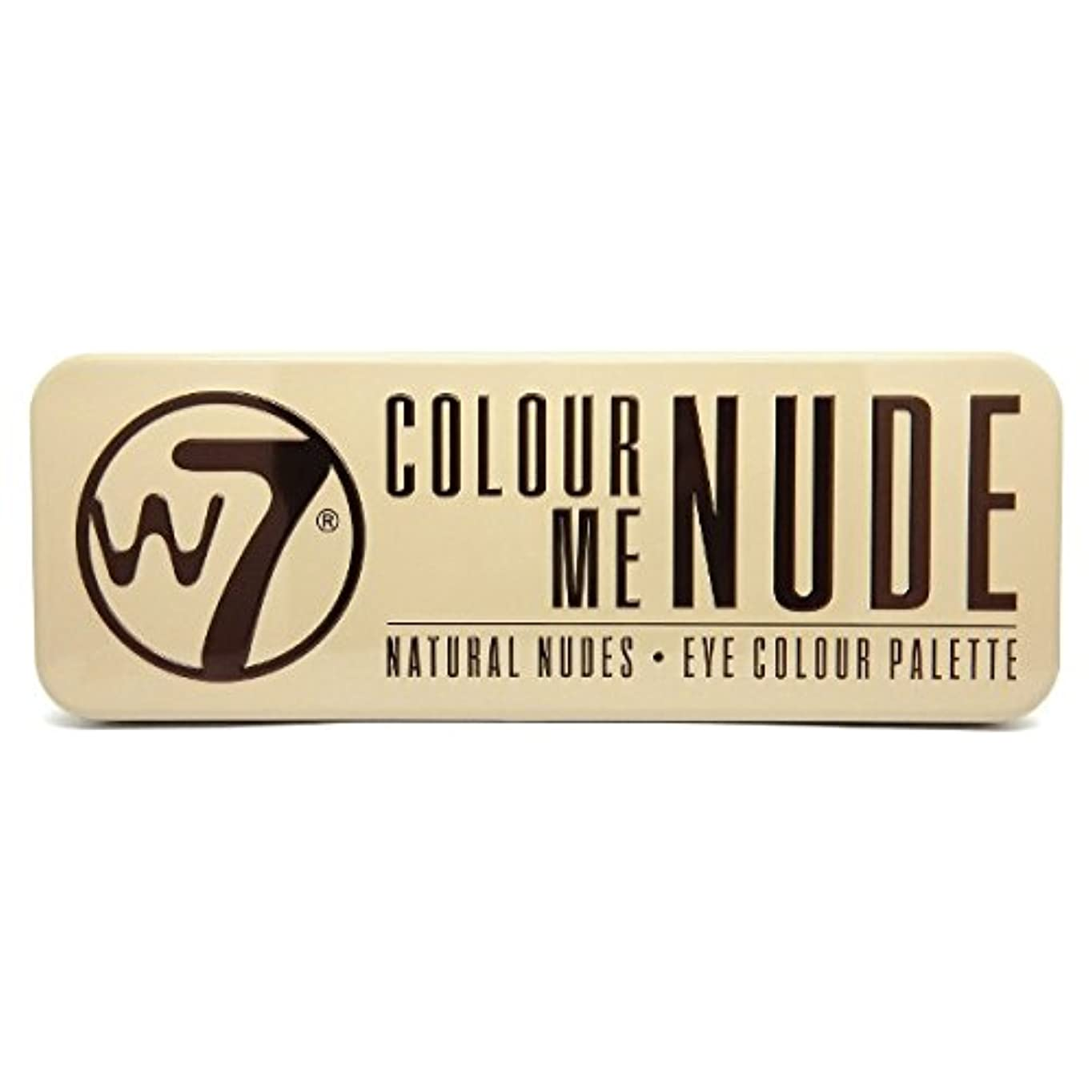 乏しい水陸両用知事W7 Colour Me Nude Natural Nudes Eye Colour Palette (並行輸入品)