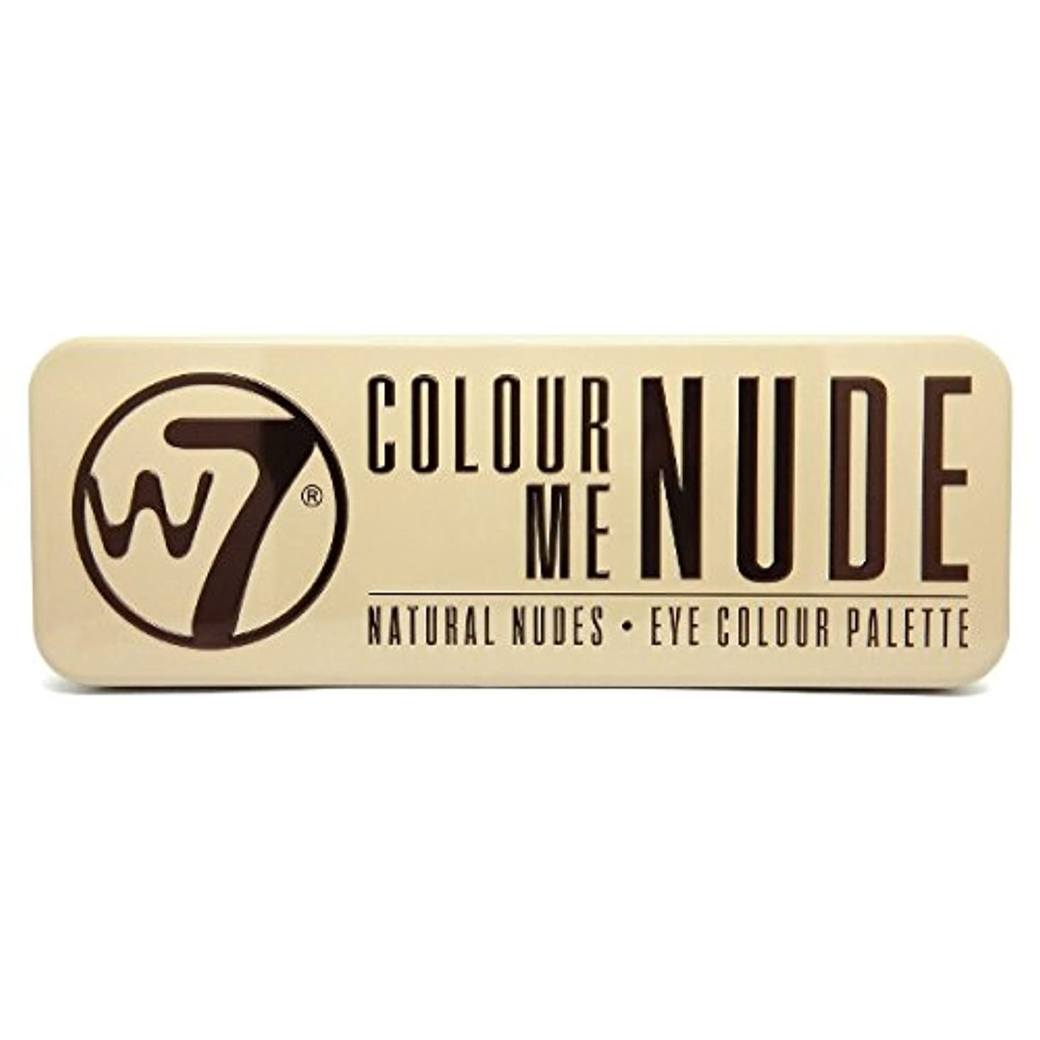 W7 Colour Me Nude Natural Nudes Eye Colour Palette (並行輸入品)