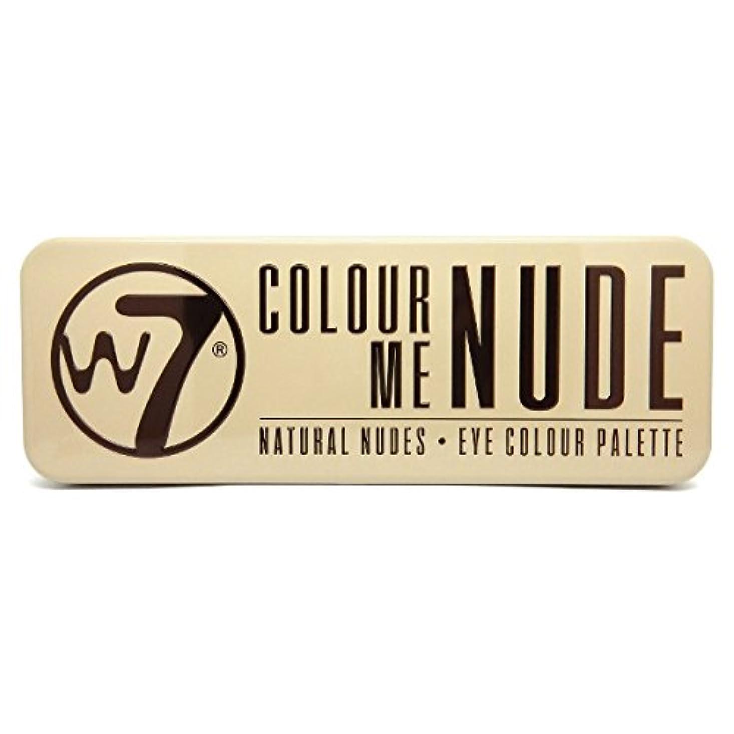 イブニング所属運賃W7 Colour Me Nude Natural Nudes Eye Colour Palette (並行輸入品)