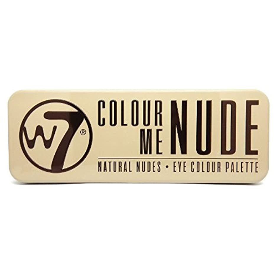 絶対に変なクールW7 Colour Me Nude Natural Nudes Eye Colour Palette (並行輸入品)