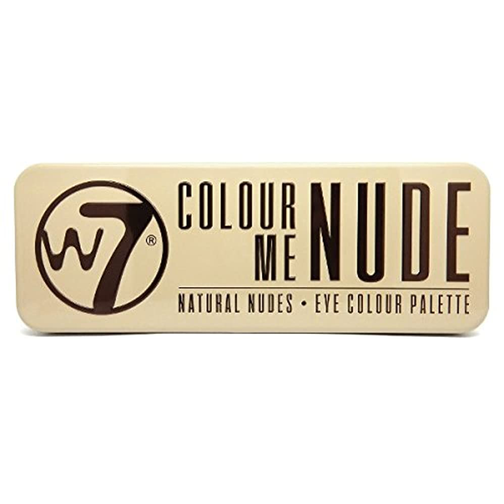 デッキドロップ元気なW7 Colour Me Nude Natural Nudes Eye Colour Palette (並行輸入品)