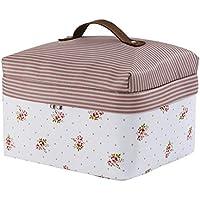 トラベルバッグ、折り畳み式肌着付き化粧品仕上げミニ (色 : 白)