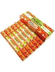 TULASI(トゥラシ) ピーチ香 スティック PEACH 6箱セット