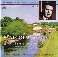 Arnold:Symphony No.5/Divertime