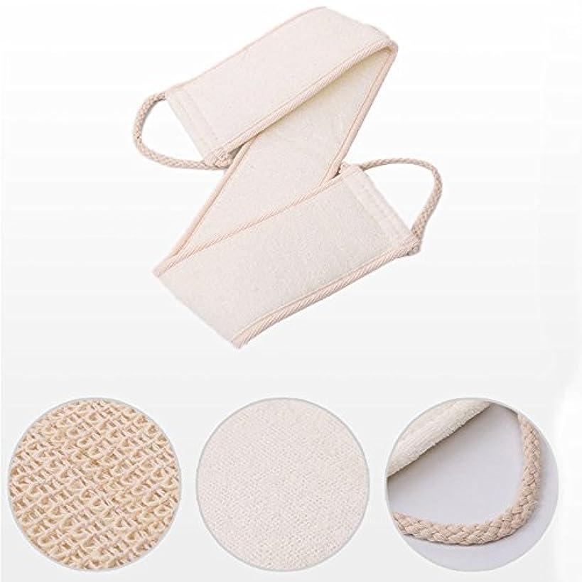 不変舌タンカー1 PC Natural Loofah Bath Brush Exfoliating Back Strap Body Scrubber Brush Sponge Massage Spa Scrubber Sponge Skin...