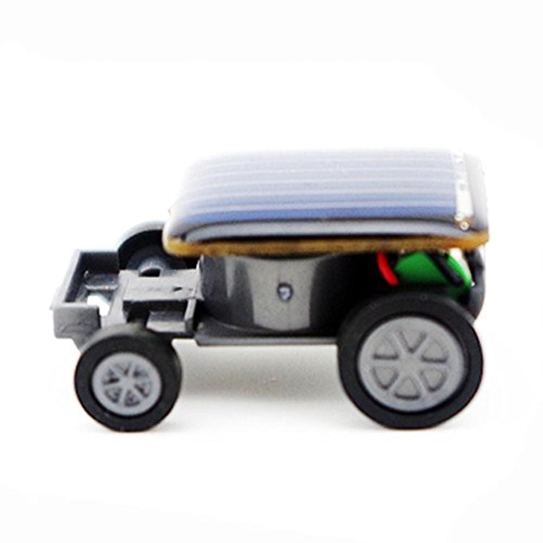 ハロウィン 小型ソーラーパワー ミニ おもちゃ カーレーサー 教育 ソーラーパワー おもちゃ A ブルー aaa