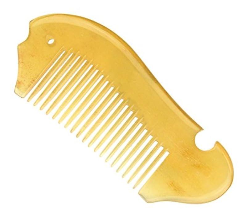 手順変化発送櫛型 プロも使う羊角かっさプレート マサージ用 血行改善 高級 天然 静電気防止 美髪 美顔 ボディ リンパマッサージ