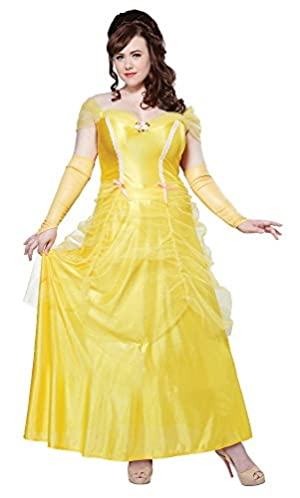 California Costume Collections CC01745_3X Plus Size Adult Classic Beauty Costume 3X