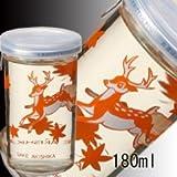 【3本から出荷】秋鹿 バンビカップ (純米酒 千秋 カップ)180ml x 3本