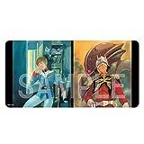 「機動戦士ガンダム」安彦良和イラスト マルチプレイラバーマット(アムロ&シャアA)