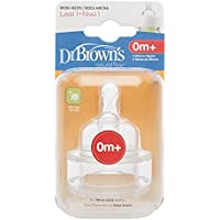 Dr Brown's Options Teats (Level 1) by Dr. Brown's