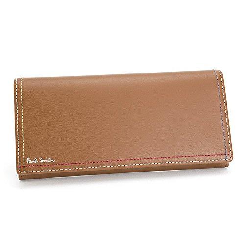 ポールスミス 財布 長財布 メンズ 牛革 PSK708 メンズ (ブラウン)
