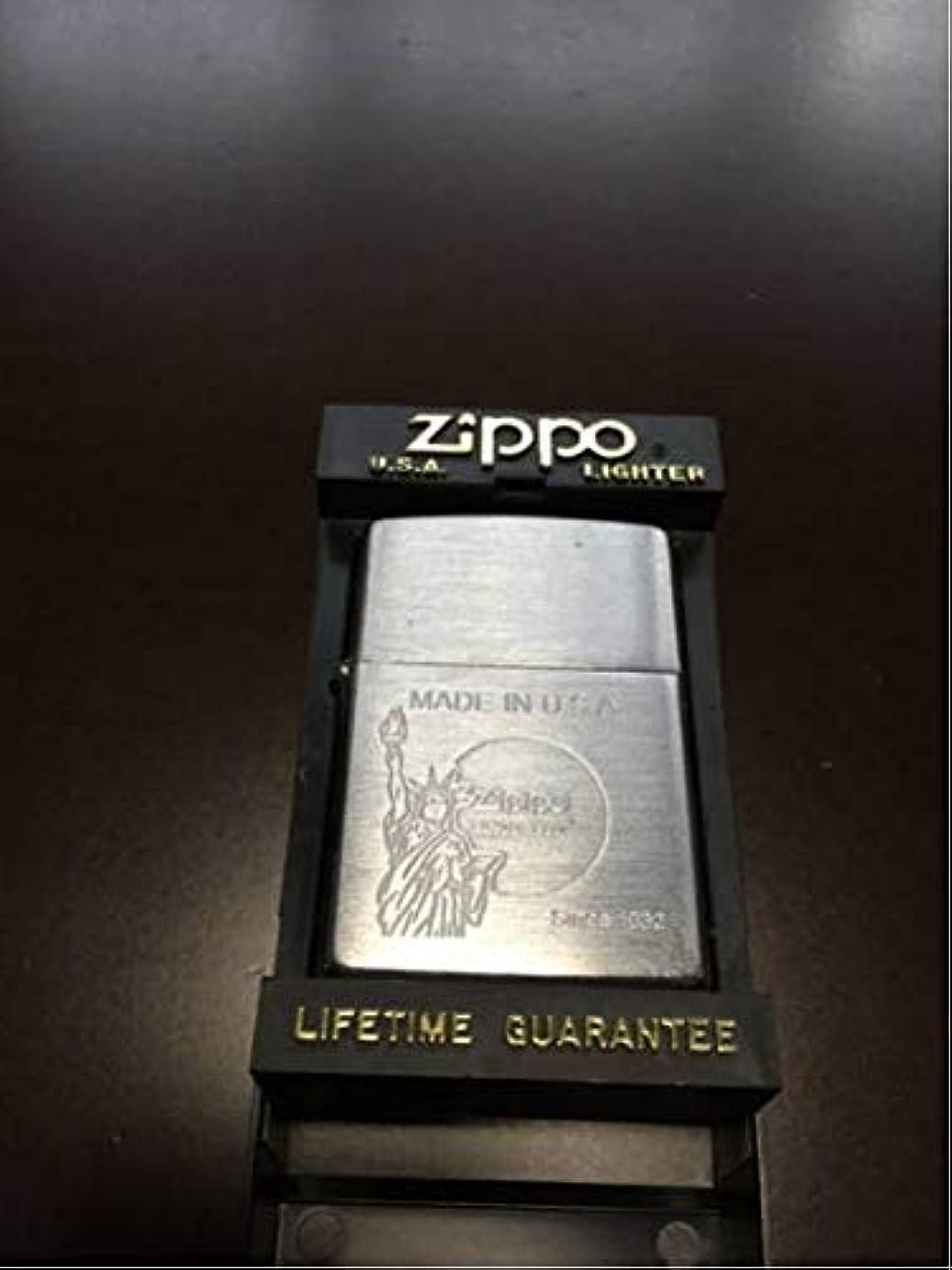 十億あなたが良くなりますバクテリアZIPPO ジッポ ライター 自由の女神 シルバー