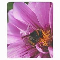 マウスパッド 動物の蜂の花 ゲーム用 パソコン デスクマット おしゃれ 疲労低減 滑り止めゴム底 滑りやすい表面 会社 オフィス 学生 レディース 軽量 印刷