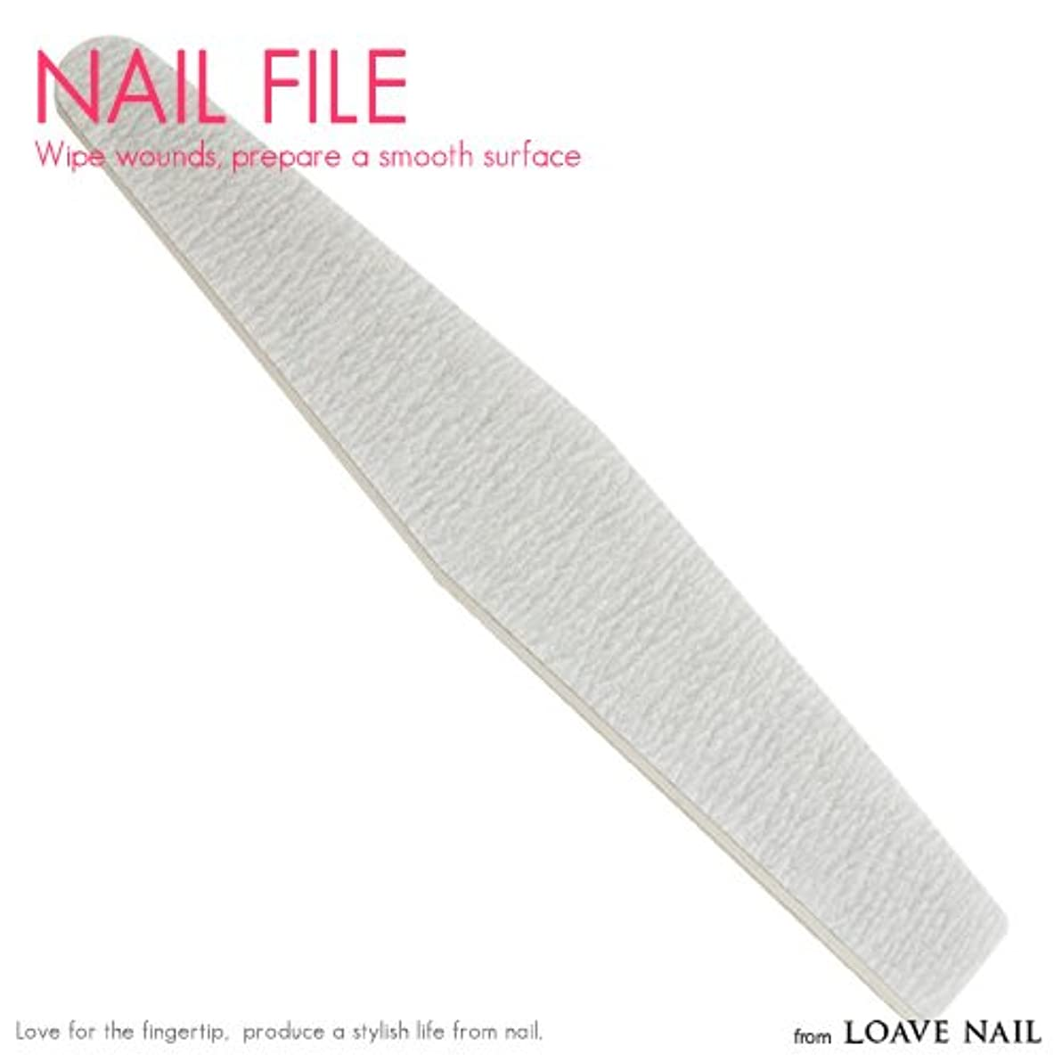 告白する三角形機転ネイルファイル 100/180 ジェルネイル ネイル用品