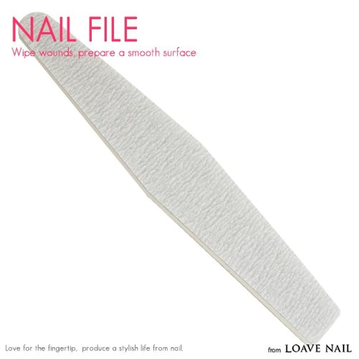 豚肉教科書頑固なネイルファイル 100/180 ジェルネイル ネイル用品