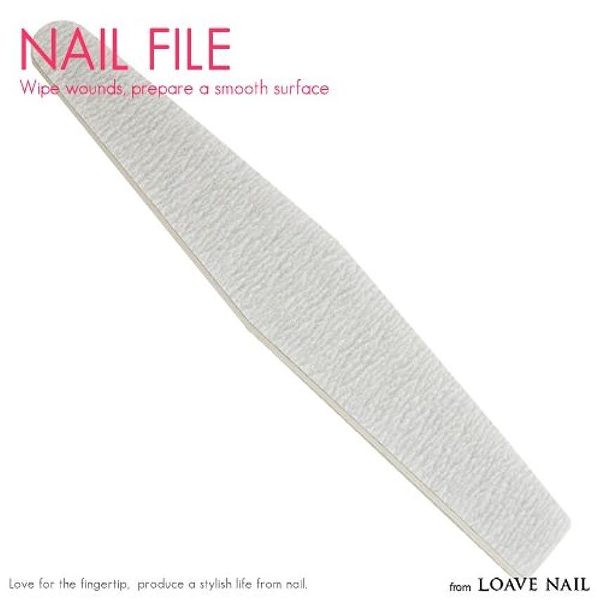 比率誤に対応するネイルファイル 100/180 ジェルネイル ネイル用品