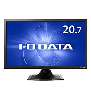 I-O DATA 20.7型ワイド液晶ディスプレイ (コンパクトサイズフルHD、ブルーリダクション機能、スピーカー搭載、3年間保証) EX-LD2071TB