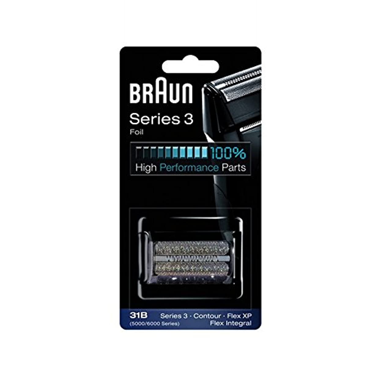 廃棄国内の挑発する[Only Foil] Braun 31B それが唯一のシェーバー箔を含む箔(含まれないものカッター) [並行輸入品]