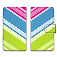 WHITENUTS MEDIAS CH 101N ケース 手帳型 UVプリント手帳 パターンB (wn-247) スマホケース メディアス チャーム 手帳 カバー スマホカバー WN-PR1263906_M