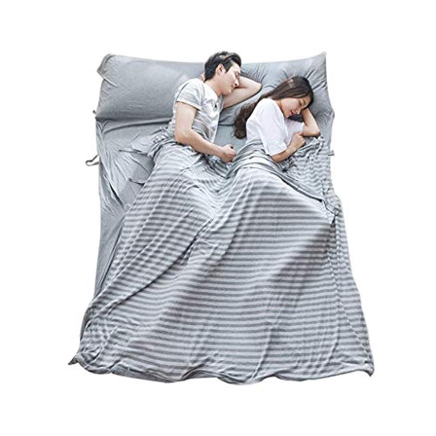 事前に帰る方程式軽量の夏の寝袋、コットンシングルダブル人耐久性とスーパーソフトトラベル綿の寝袋ライナー