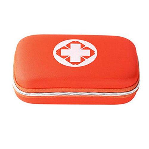 Sheltons 携帯用救急箱 緊急応急セット 防災セット ファーストエイドキット スポーツケア 応急処置17種類 (オレンジ)