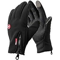 Opard Winter Gloves Women Men Touch Screen Soft Fleece Cold Weather Mittens Cycling, Driving