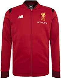 New Balance Men's Liverpool FC Elite Training Walk Out Jacket - Red Pepper サッカー リヴァプールFC ジャケット (US Size Medium)