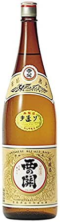 西の関 手造り本醸造 1800ml [大分県]