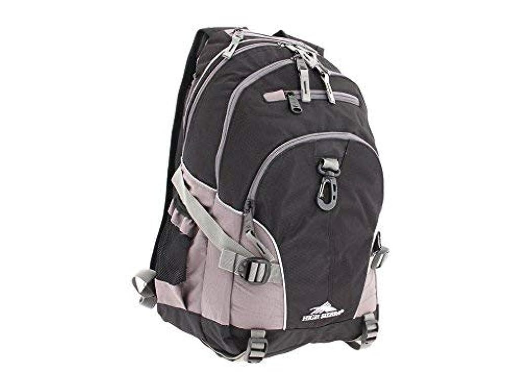 トラクター動揺させる領収書High Sierra Loop Backpack, Black/Charcoal [並行輸入品]