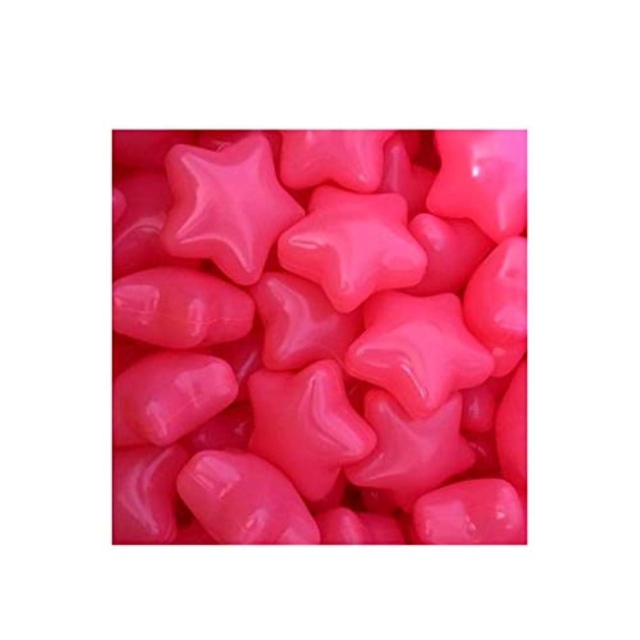 余分な光ビン五芒星オーシャンボールの100pcsクリエイティブキッズピットボール肥厚弾性ボールカラフルポップウェーブボール赤ちゃんゲームボールデコレーションプラスチックおもちゃボール (Color : Red)