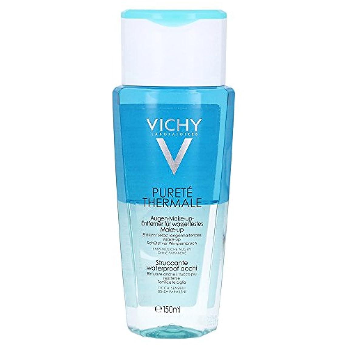 敏感なリスナー旅Vichy Purete Thermale Biphasic Cleansing Lotion Eyes 150ml [並行輸入品]