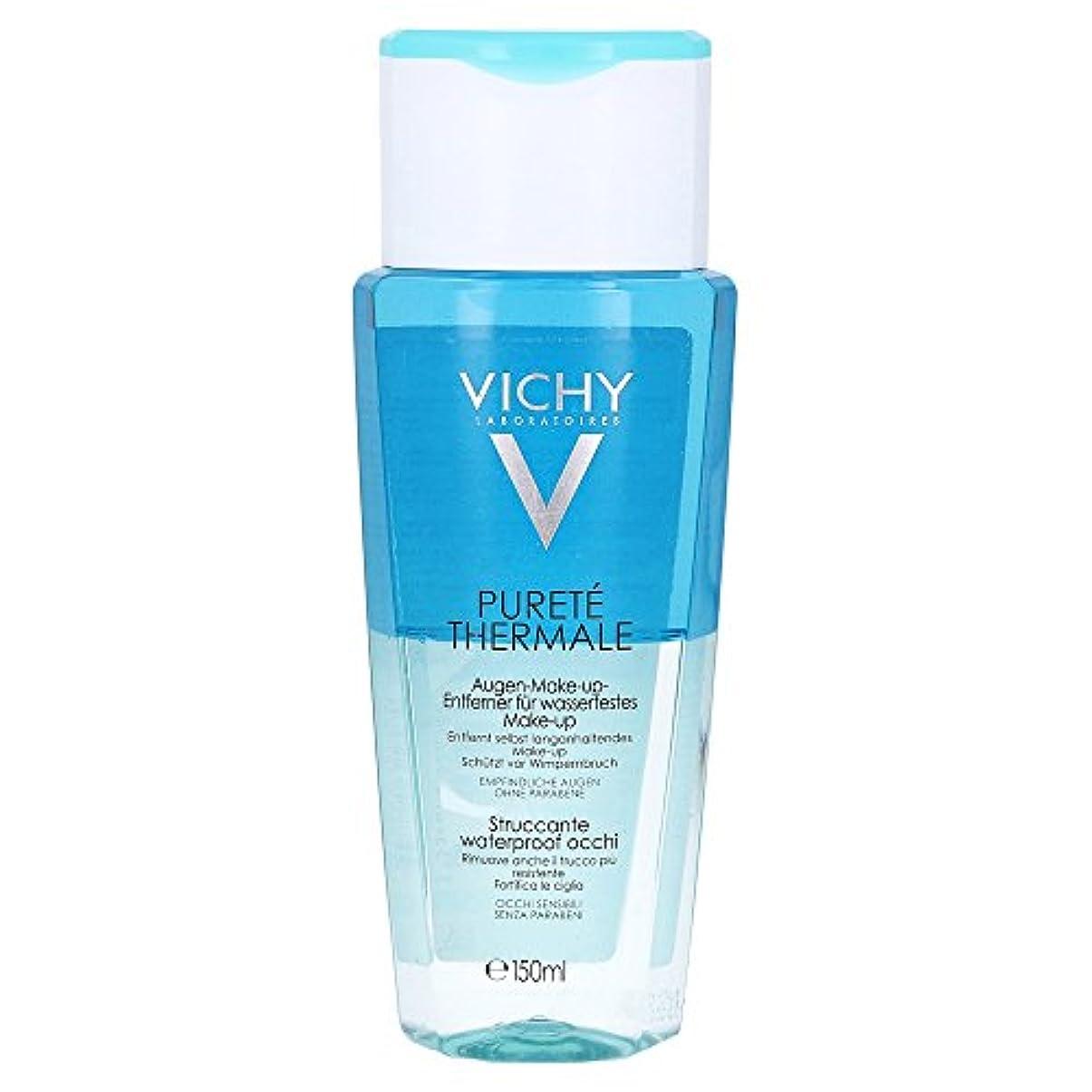 エラーマージン閉塞Vichy Purete Thermale Biphasic Cleansing Lotion Eyes 150ml [並行輸入品]