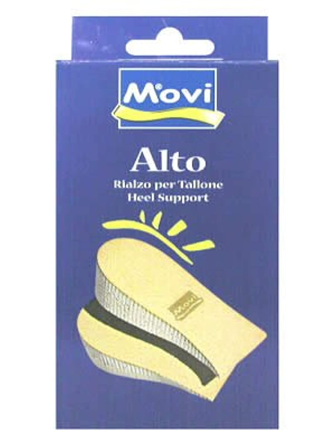 大腿バイパス年齢MOVI ヒールアップサポート 1cm M