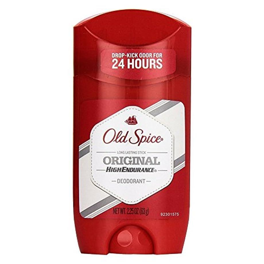 フリッパーピンポイント写真のOld Spice 高耐久オリジナル香りメンズデオドラント、2.25オズ(3パック)