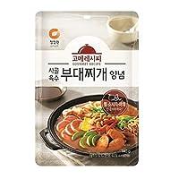 chungjungone グルメレシピ トラディショナル ブデチゲ(鍋)ソース 140g Korea Food 韓国(並行輸入品)