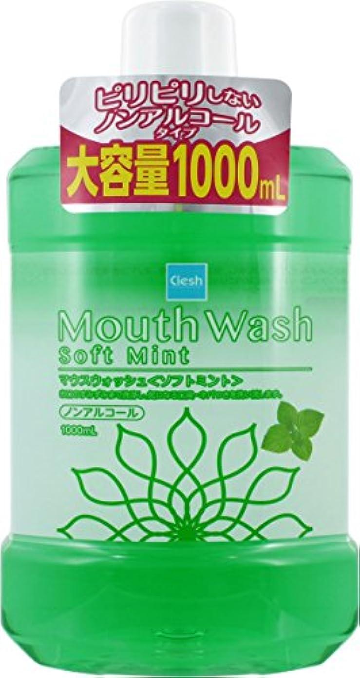 卒業記念アルバムシリンダー誰Clesh キシリトールマウスウォッシュ ソフトミント 1000ML