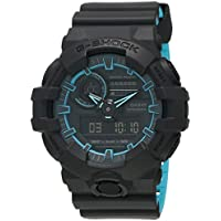 G-SHOCK Men's GA700SE-1A2 Year-Round Analog-Digital Automatic Black Watch