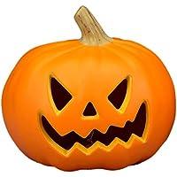 [φ23x21]NEWパンプキンランタン S (A):光るジャックオランタン ハロウィン飾り かぼちゃ 装飾 置物 ジャックオーランタン