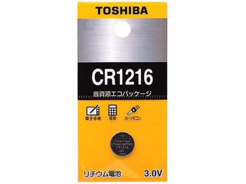 TOSHIBA CR1216EC コイン形リチウム電池