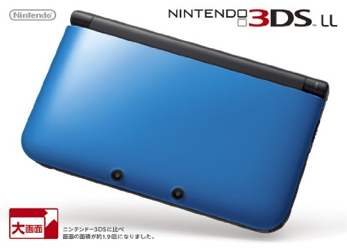 ニンテンドー3DS LL ブルーXブラック【メーカー生産終了】の詳細を見る