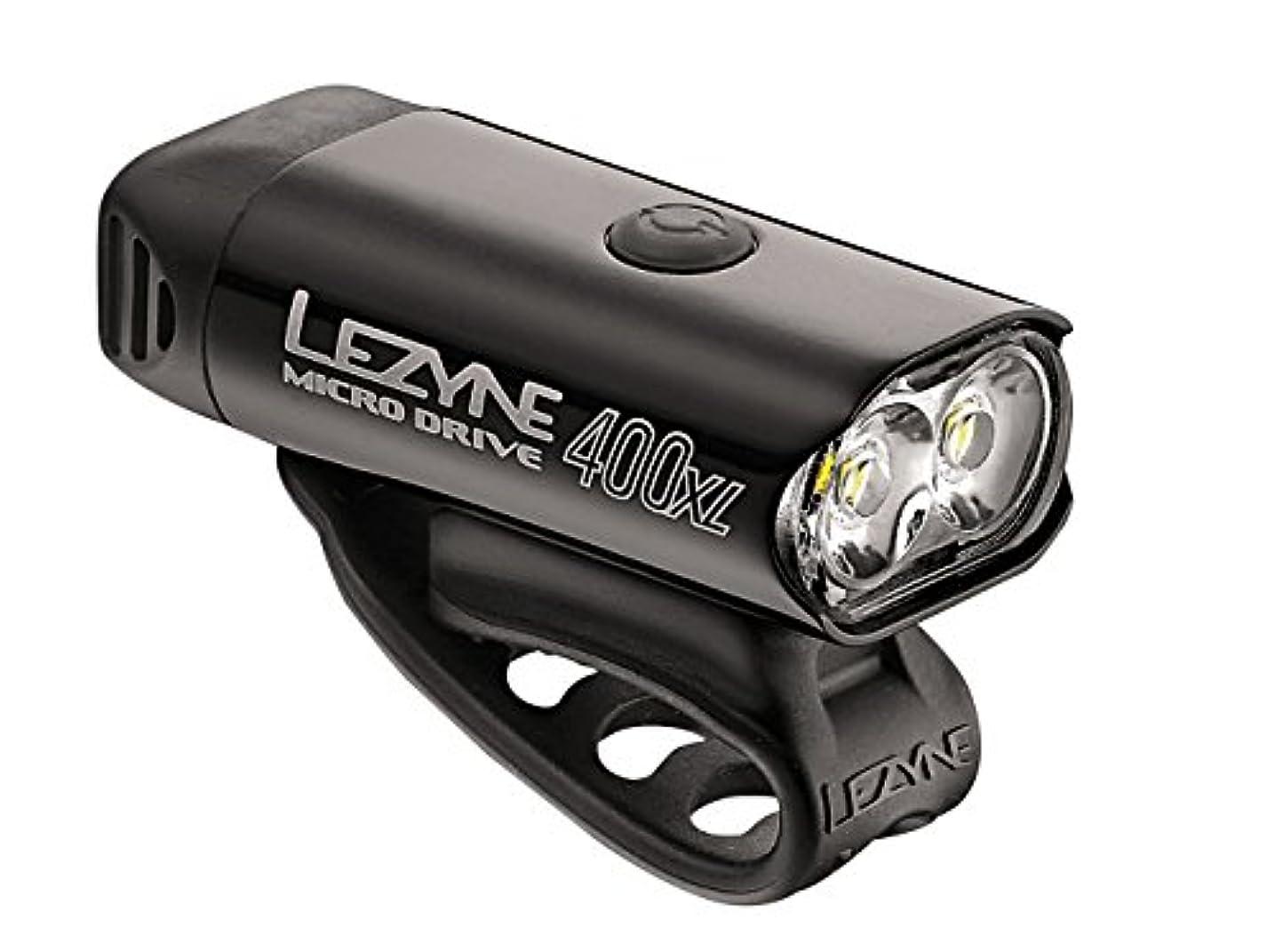 空虚裂け目LEZYNE(レザイン) MICRO DRIVE BLACK 1-LED-2-V204