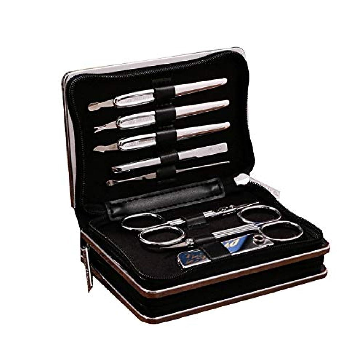 メタンスピーカーストレージTUOFL マニキュアツールセットの14セット、毎日のニーズを満たすために完全に機能 (Color : Silver)